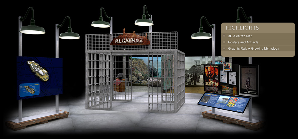 """Alcatraz: Life on the Rock"" Entrance"