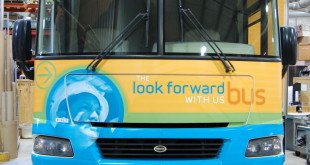 PGE Look Forward Bus