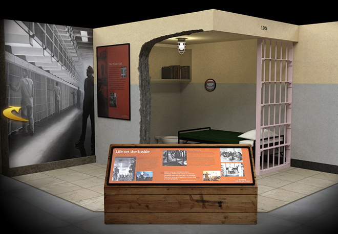 """""""Alcatraz: Life on the Rock"""" Inmate Cell Recreation"""