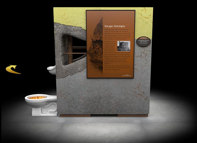 """Alcatraz: Life on the Rock"" Escape Attempts"