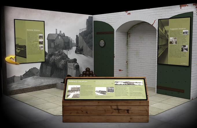 """""""Alcatraz: Life on the Rock"""" Military History"""